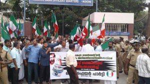 demonstration-on-demonitisation-at-ernakulam